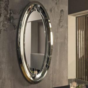 Aqua specchio con cornice specchiante