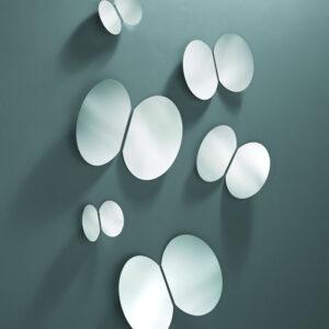 Farfalle specchio tre specchi