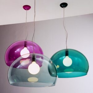 Fly trasparente lampada a sospensione Kartell