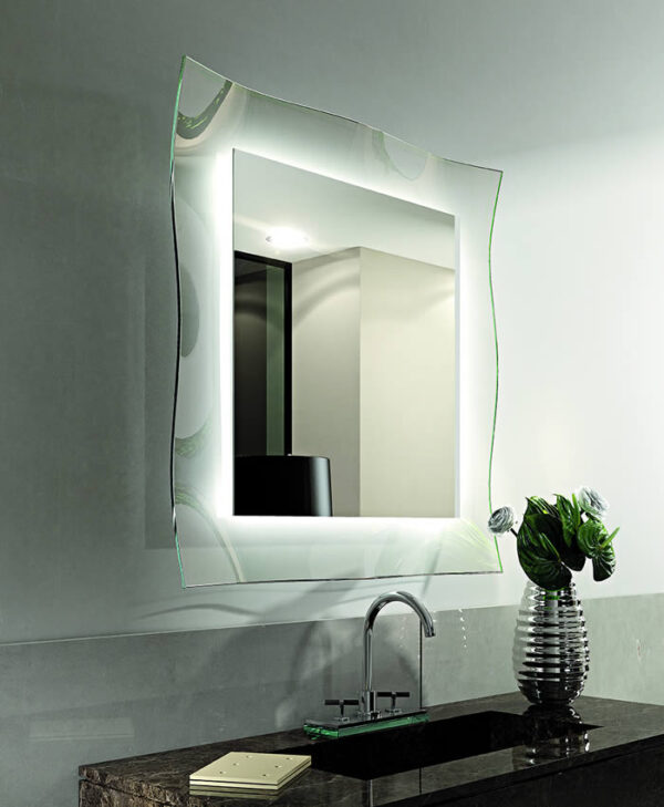 Ginevra specchio Brand Riflessi