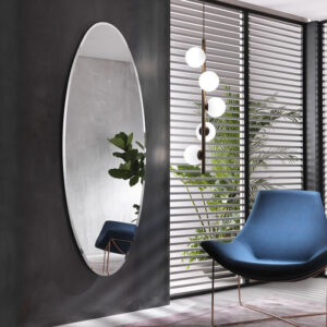 Ionico specchio ovale