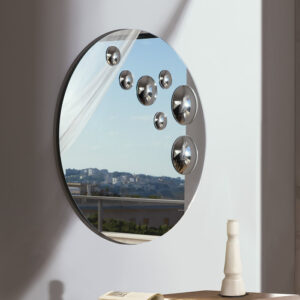 Le Sfere specchio rotondo