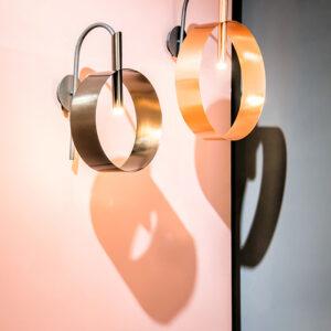 Led Loop Lampada da parete