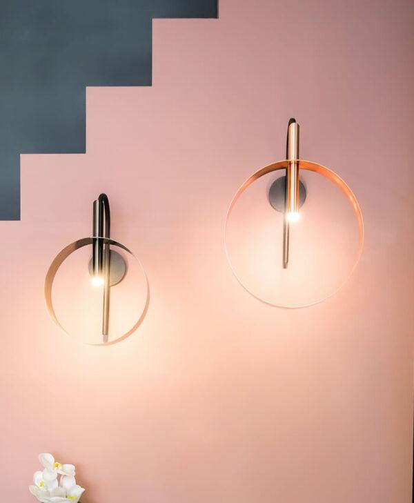 Led Loop applique Lampada da parete