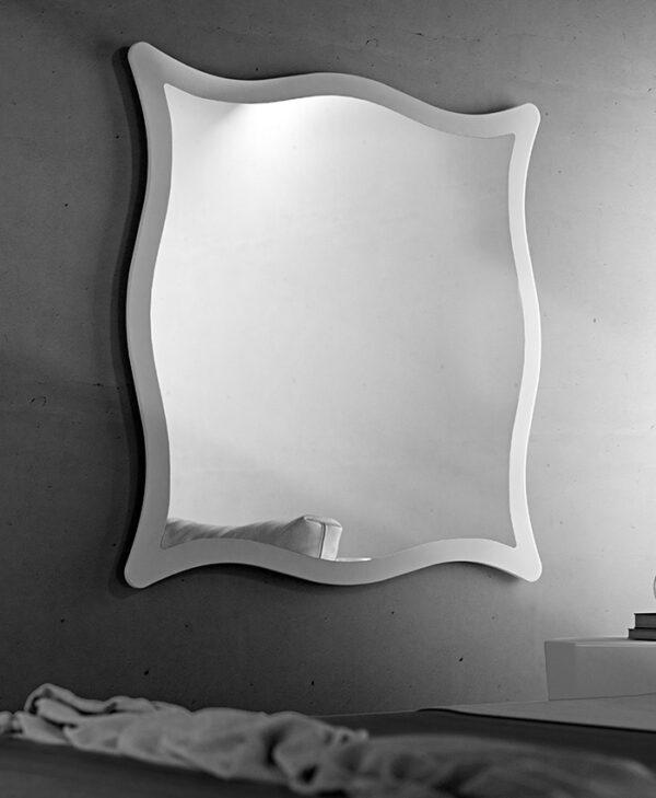 Moving specchio con cornice Riflessi