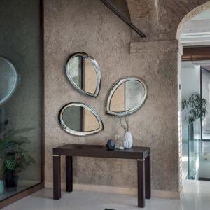 Petalo specchio Riflessi tre specchi