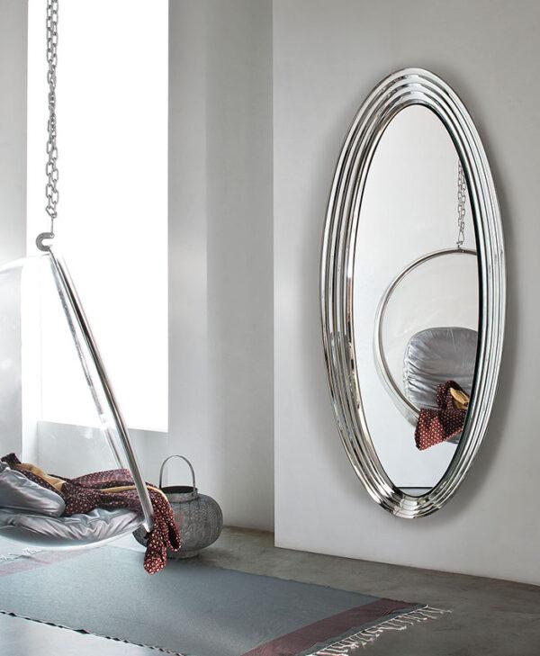 Queen specchio in cristallo Riflessi