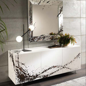 Trapezio Art specchio
