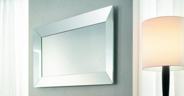 Trapezio specchio da parete