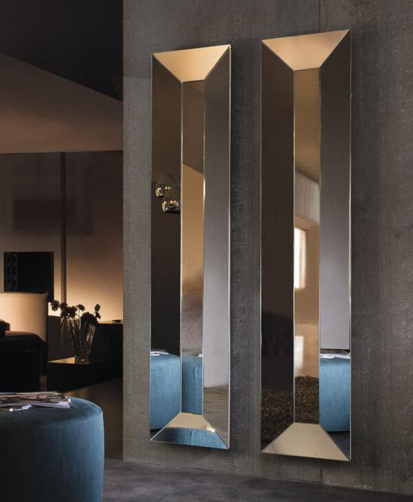 Trapezio specchio rettangolare
