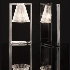 light air lampada da tavolo kartell