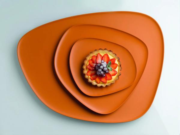 Namastè arancione immagine
