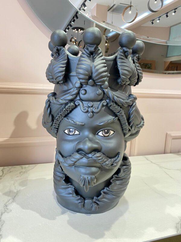 Testa di moro uomo vaso