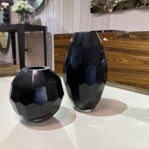 Vaso decor nero