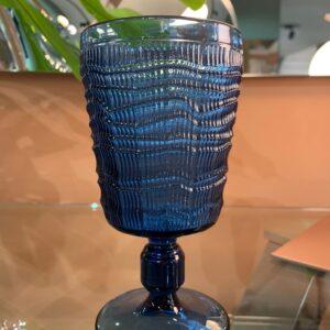 Calice particolare blu