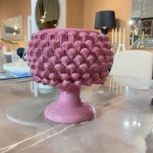Pigna vaso rosa