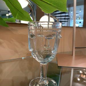 bicchiere faccia vetro